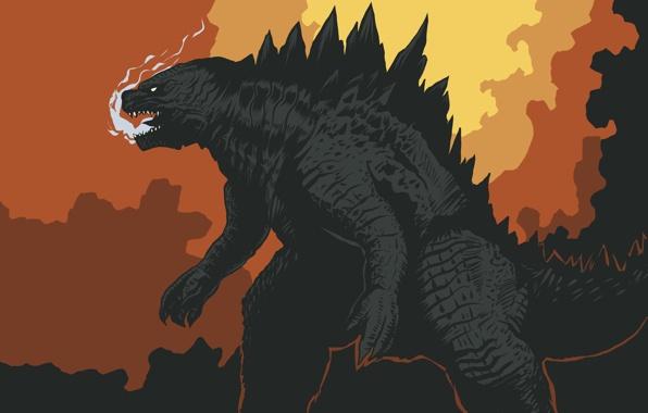 Wallpaper godzilla godzilla dinosaur monster smoke wallpapers 596x380
