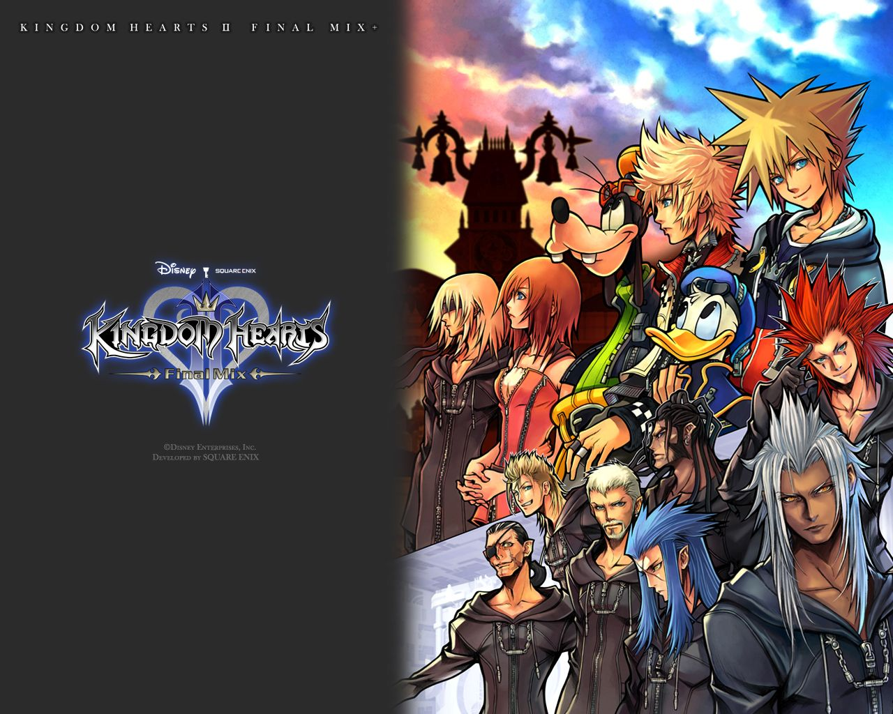 Fond ecran wallpaper Kingdom Hearts 2 Final Mix   JeuxVideofr 1280x1024