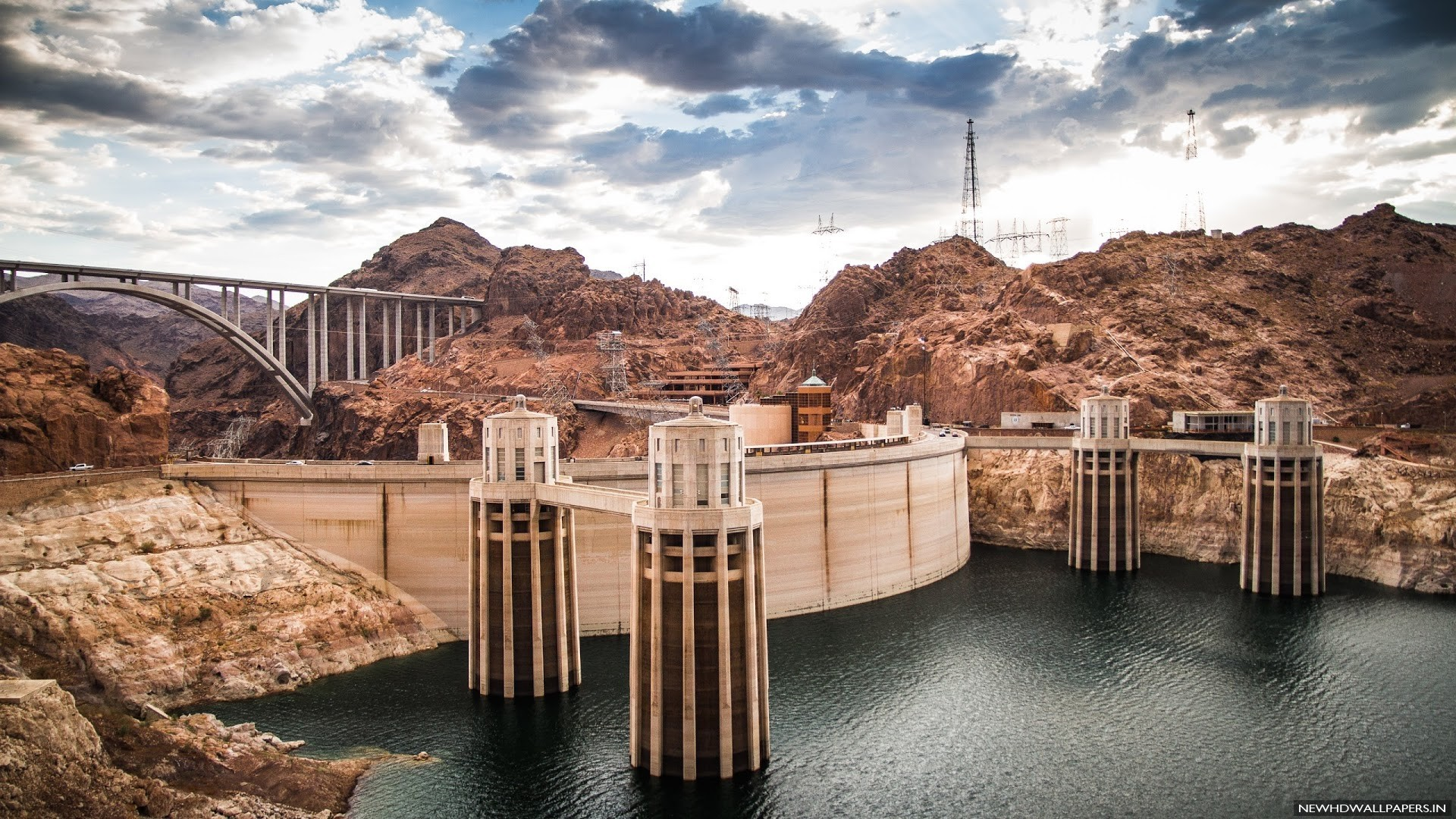 Hoover Dam Colorado River Wallpaper HD   New HD Wallpapers 1920x1080