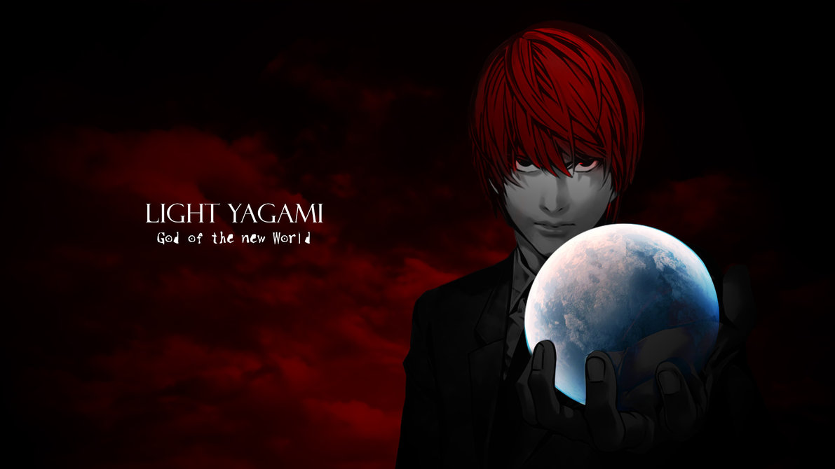 Free Download Light Yagami God Of The New World Wallpaper By