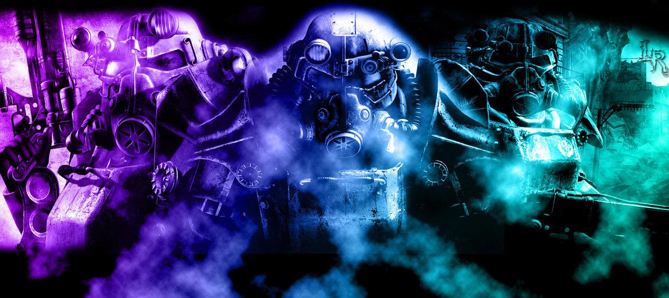 Fallout 3   Brotherhood of Steel by wampragos 1339x596
