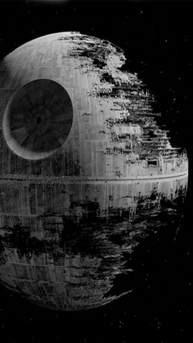 Star Wars and Death Star iPhone Wallpapers iPhone 5s4s3G 640x1136