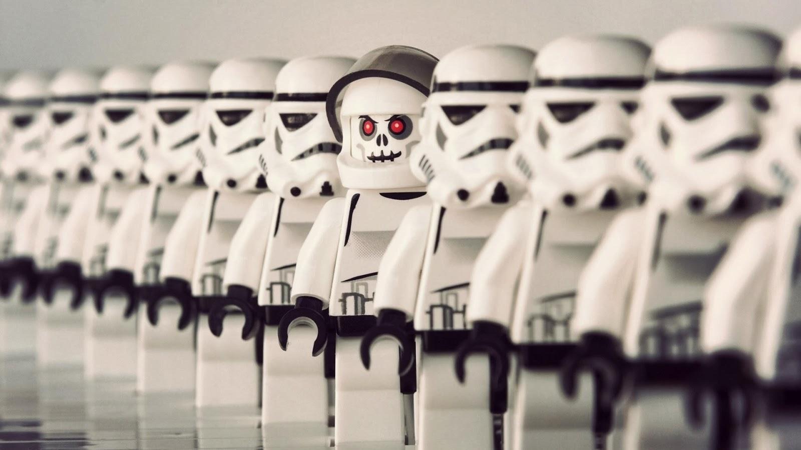 Lego Stormtroopers Full HD Desktop Wallpapers 1080p 1600x900