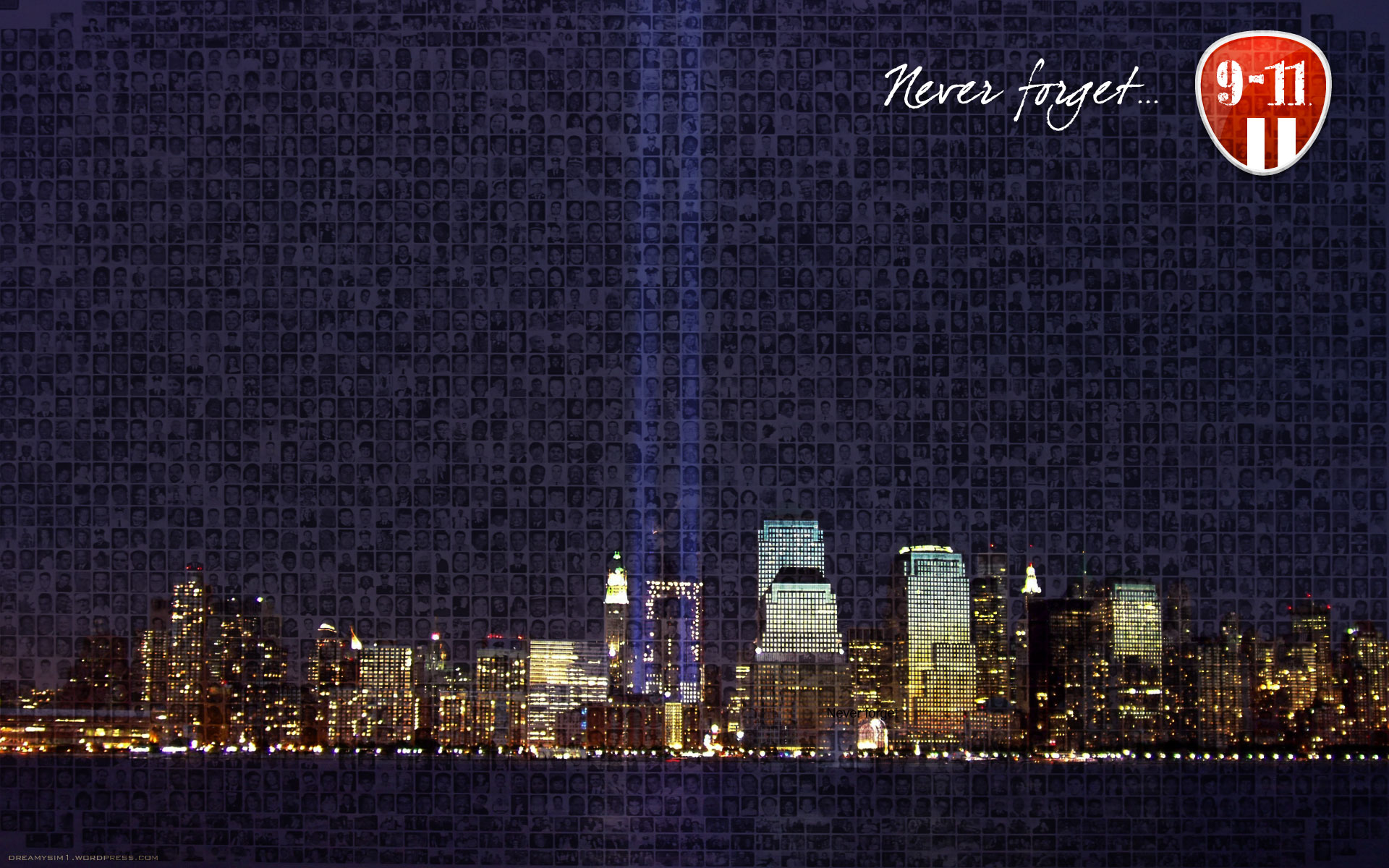 11 Tribute Wallpaper Remembering 911 ten years 1920x1200