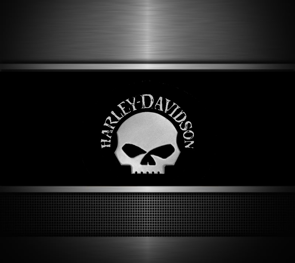 wallpaper displaying 8 images for harley skull logo wallpaper toolbar 960x854