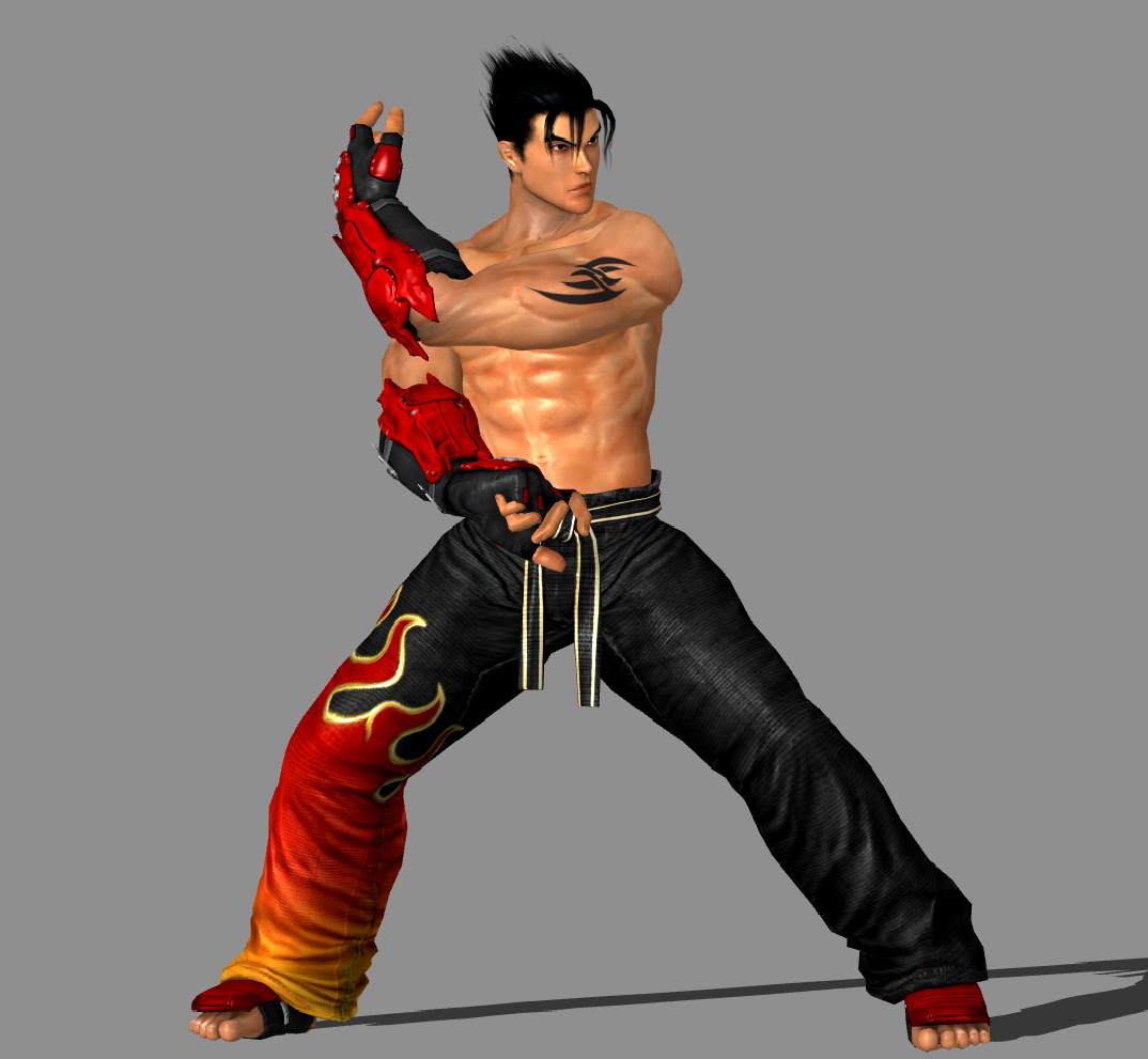 Free Download Tekken 6 Jin Kazama Tekken 5 Promo Image Pose By