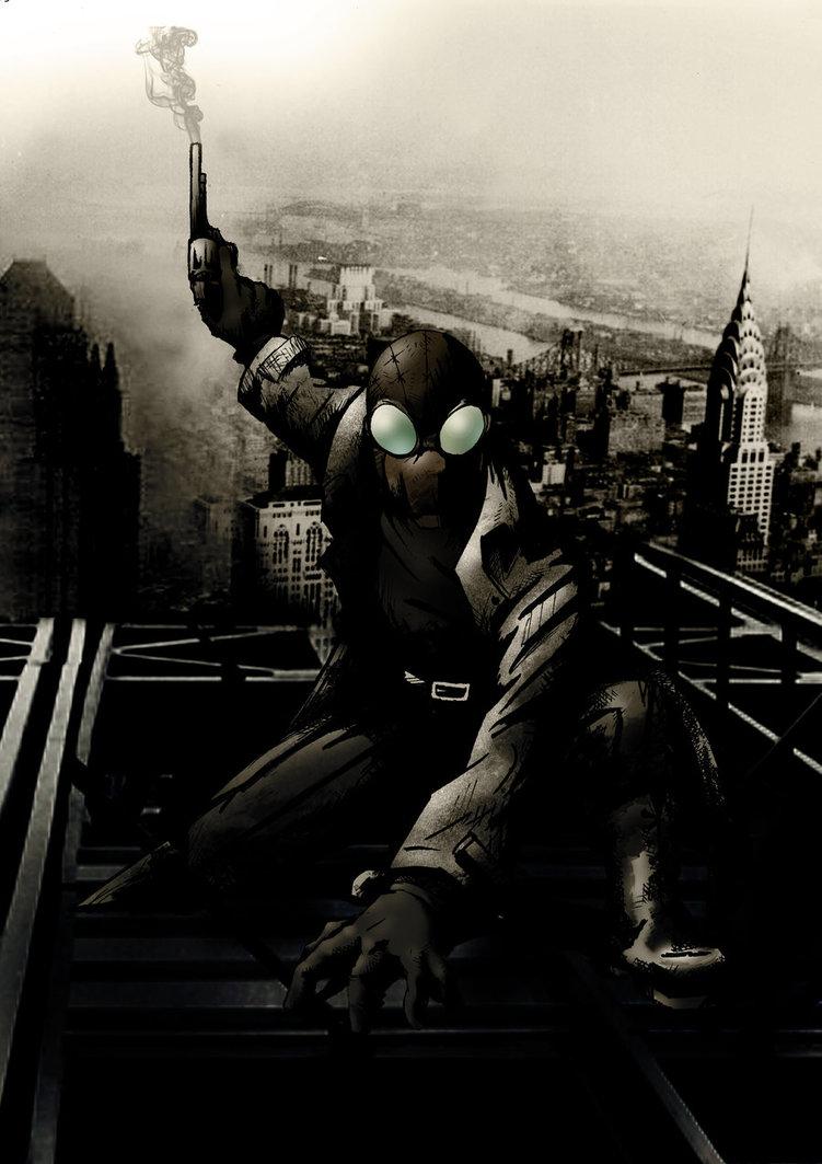 Spider Man Noir Wallpaper Wallpapersafari