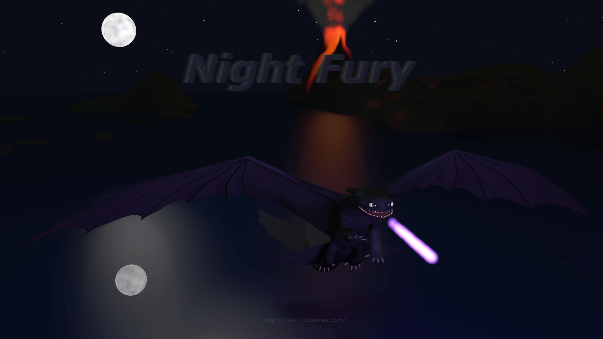 Night Fury 1080 BG1 V3D 1920x1080