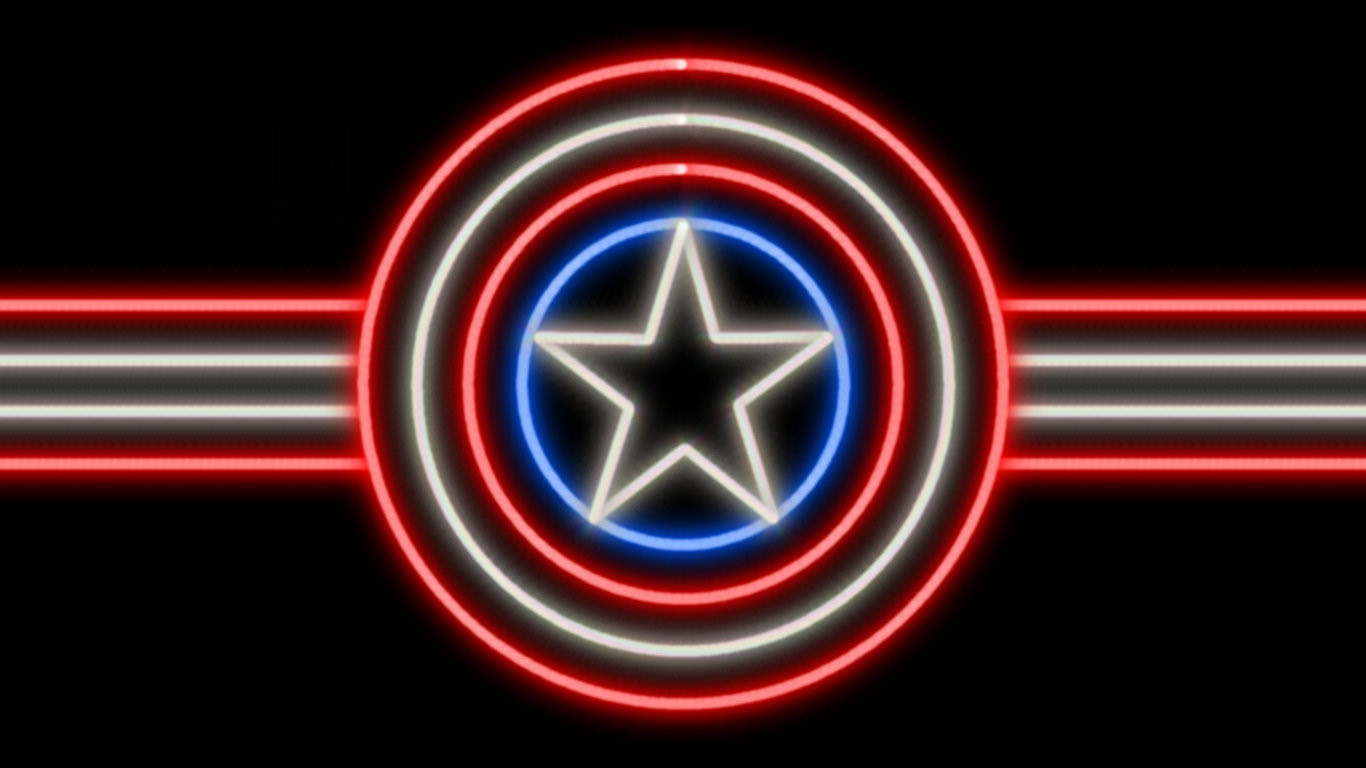 Captain America Shield Wallpapers and Backgrounds Attachment 4300   HD 1366x768