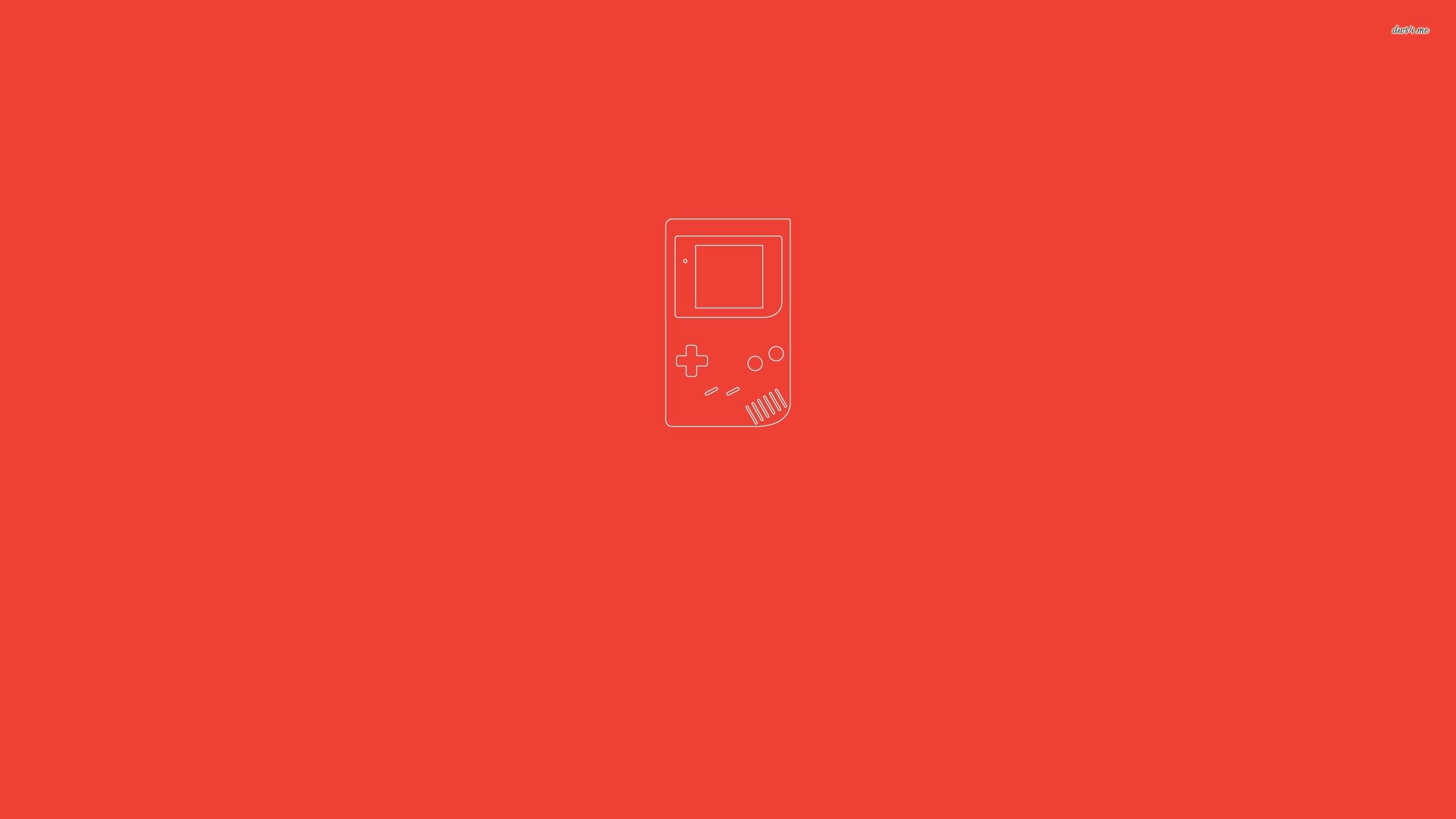 Game Boy wallpaper   Minimalistic wallpapers   39498 2560x1440