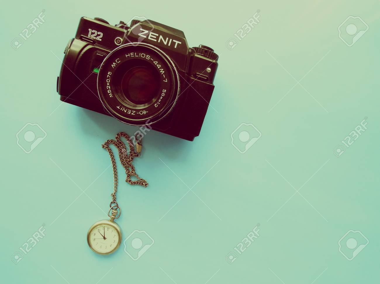 Old Camera Zenith Vintage Style Retro Background Wallpaper 1300x974