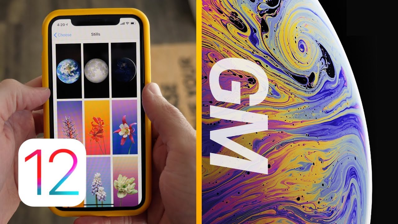 iOS 12 GM Released Official iPhone XS Wallpapers 1280x720