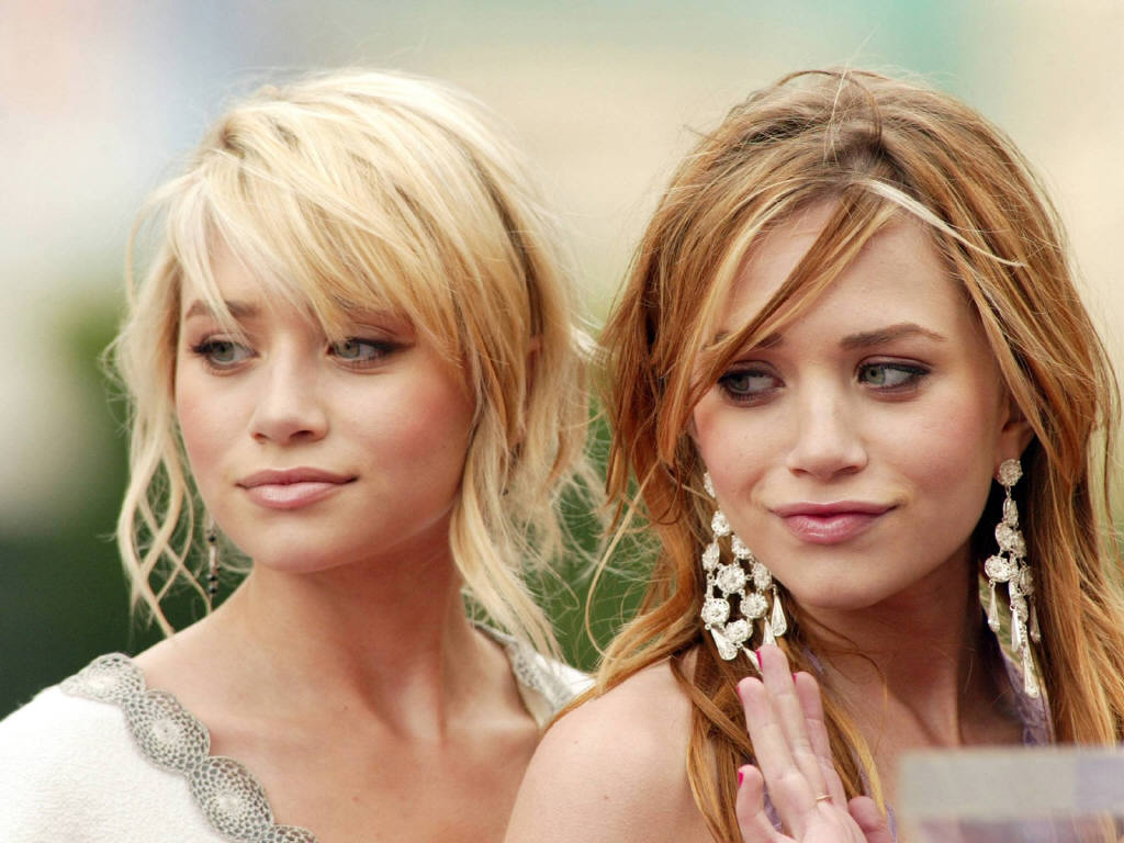 Olsen Twins Wallpaper 1024x768