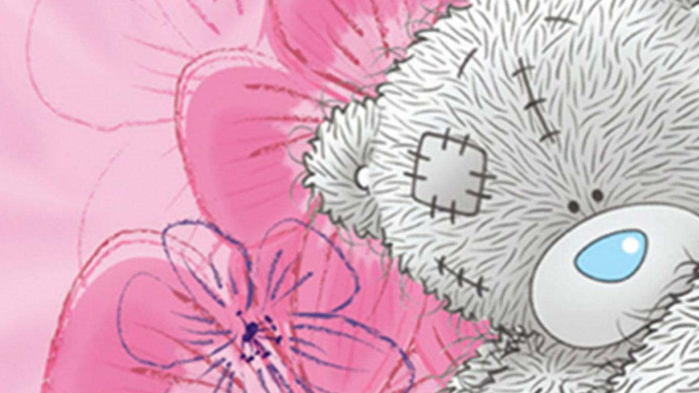 cute pink teddy wallpapers