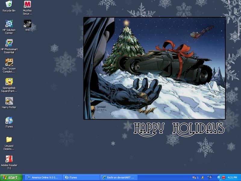 Batman Christmas Wallpaper 800x600