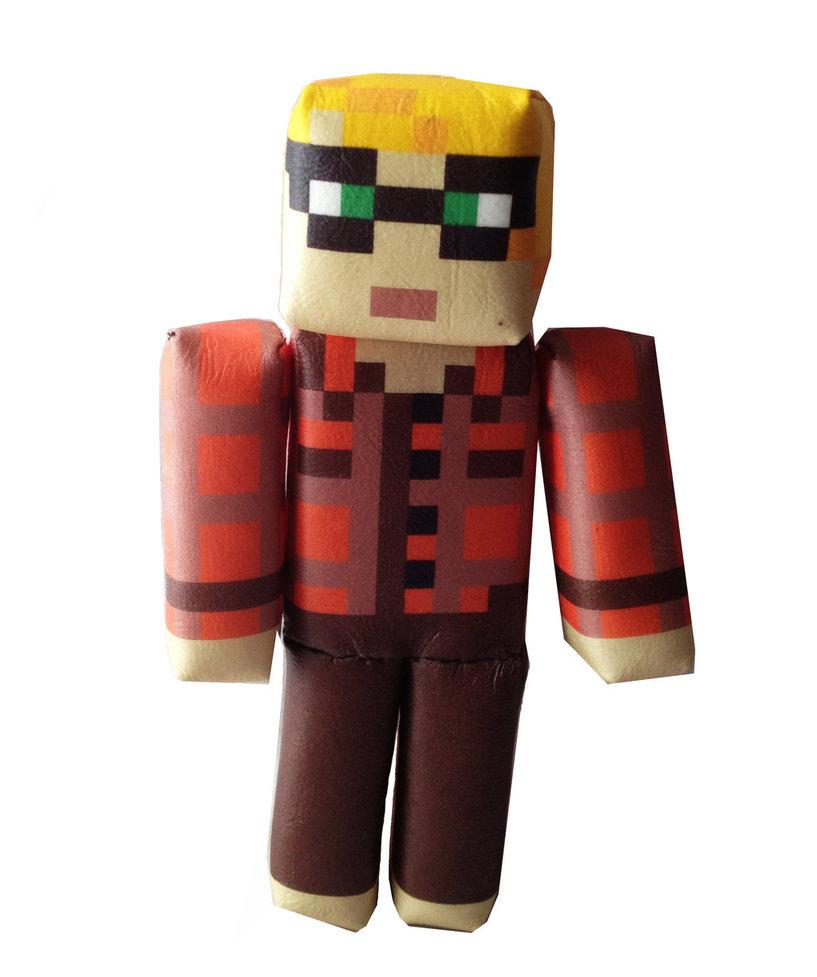 Minecraft Custom Skin Plush by OcularFracture 817x977