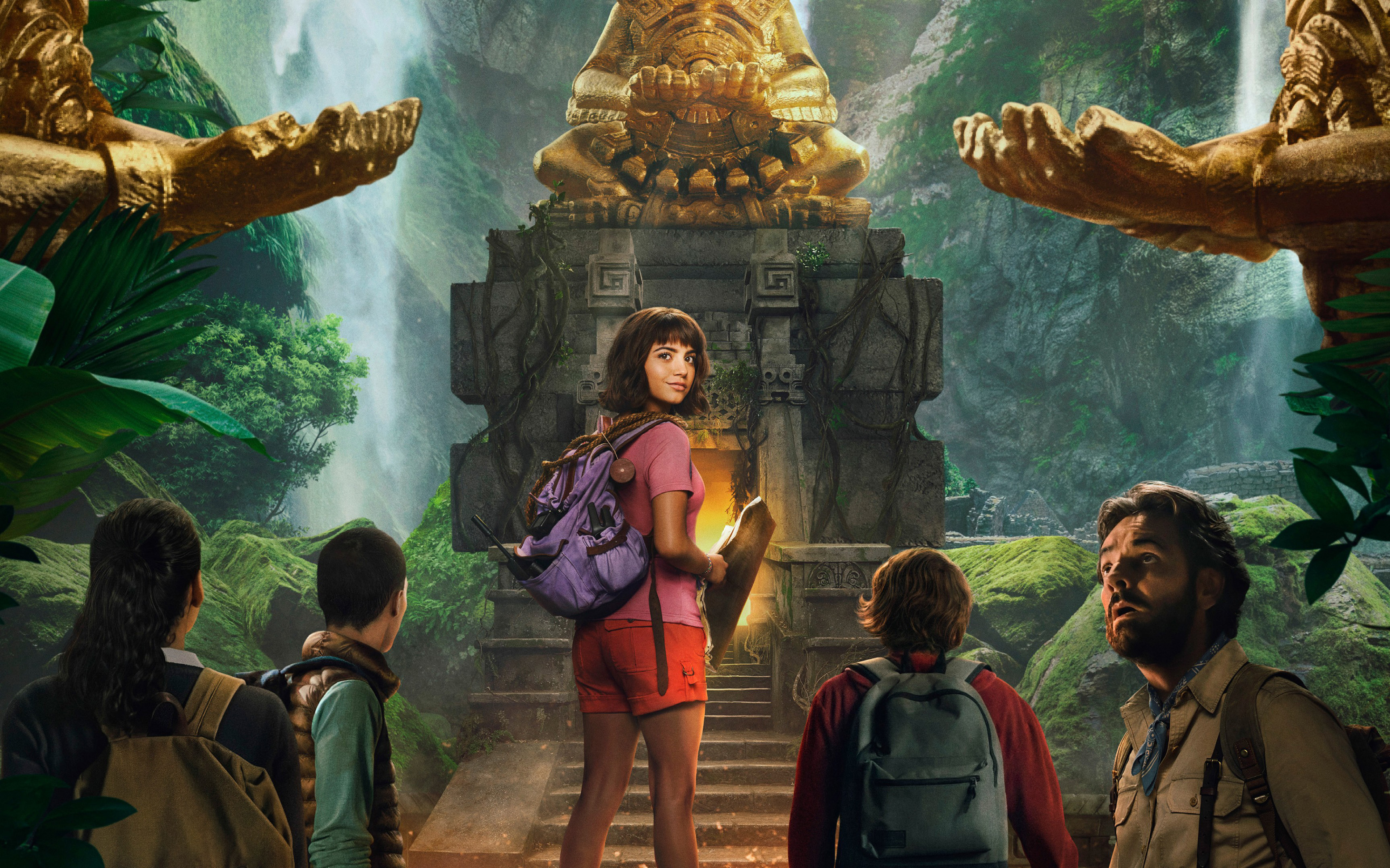 Download wallpapers Dora and the Lost City of Gold 2019 4k 3840x2400