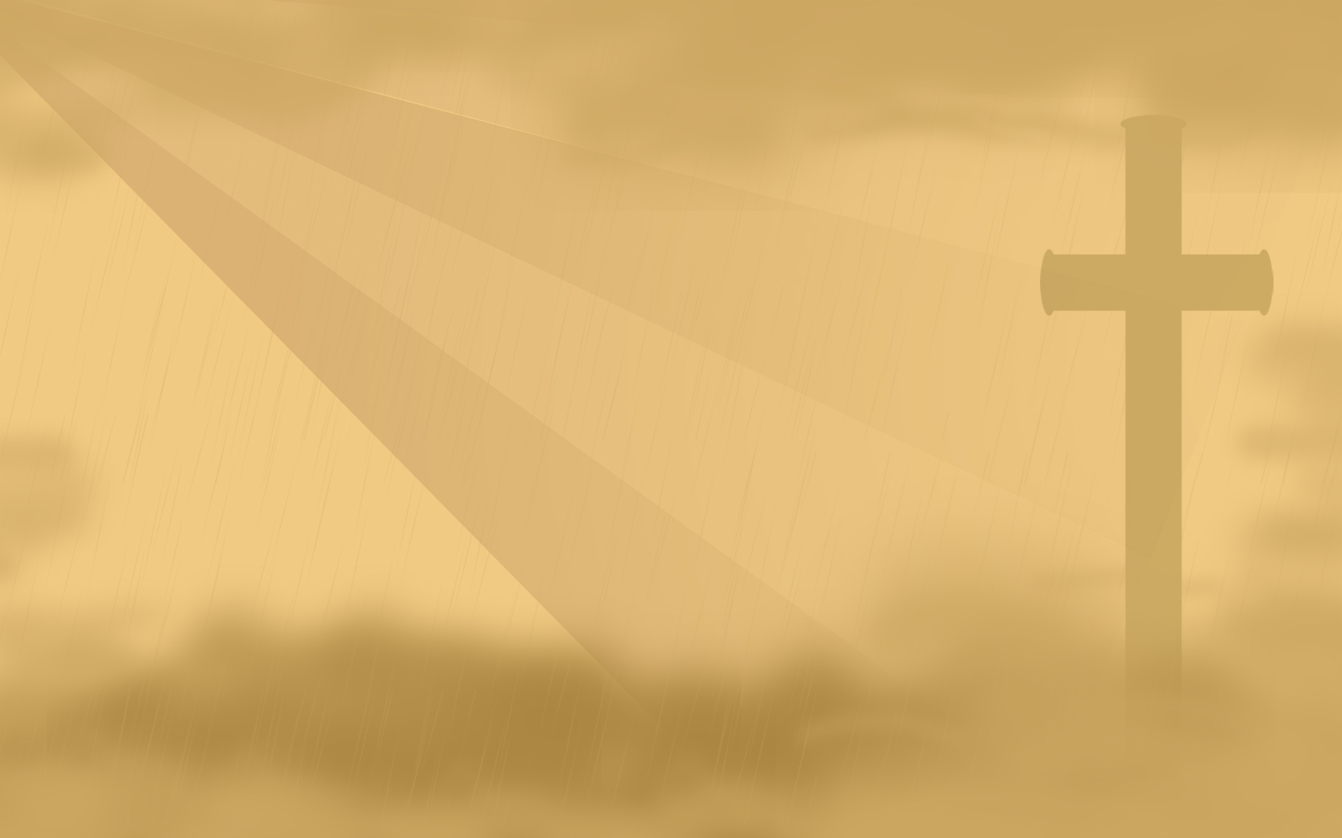 PowerPoint Background   The Cross   Templates 1920x1200