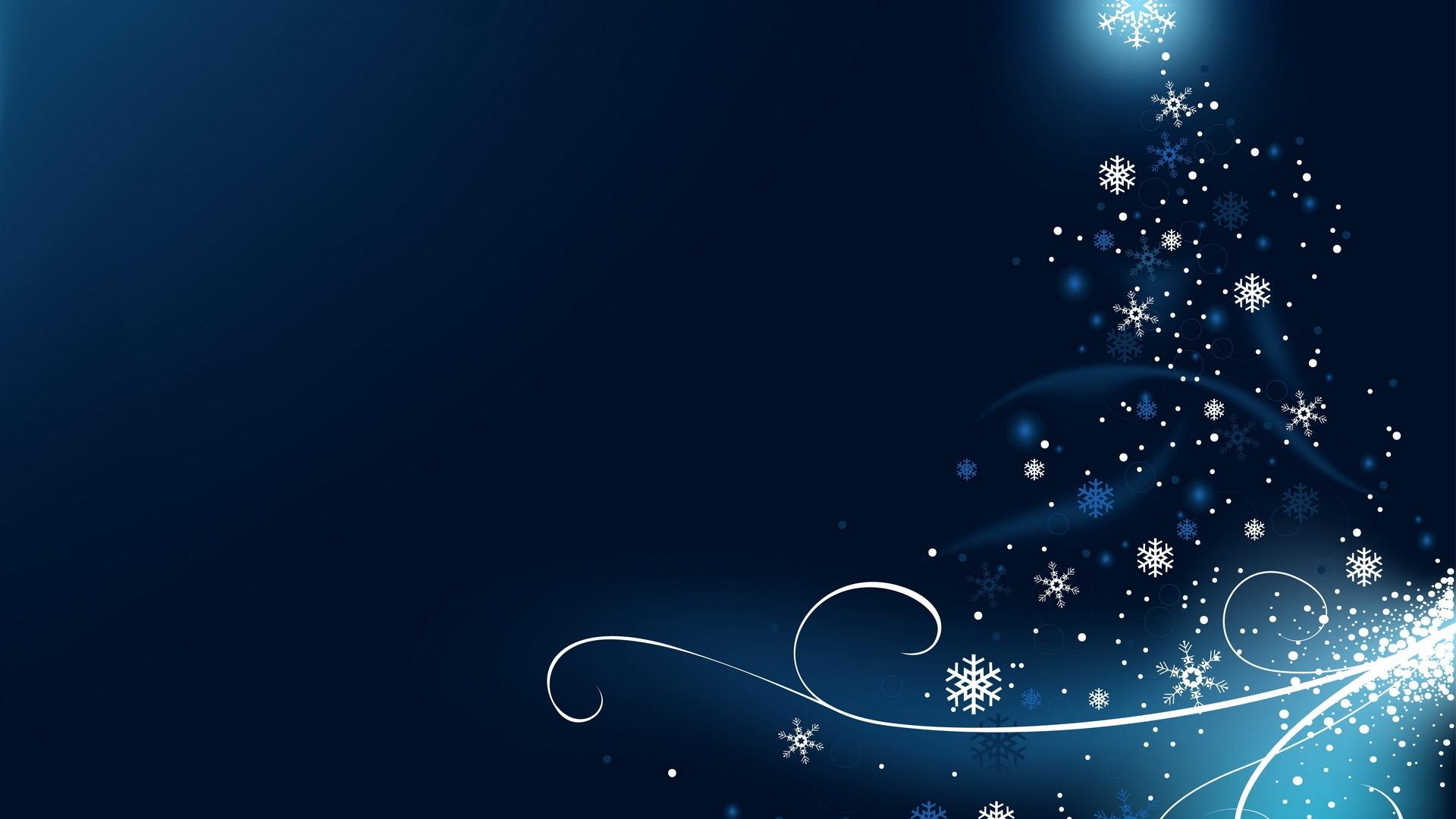 Google themes blue - Google Chrome Themes Christmas Snowflake Theme