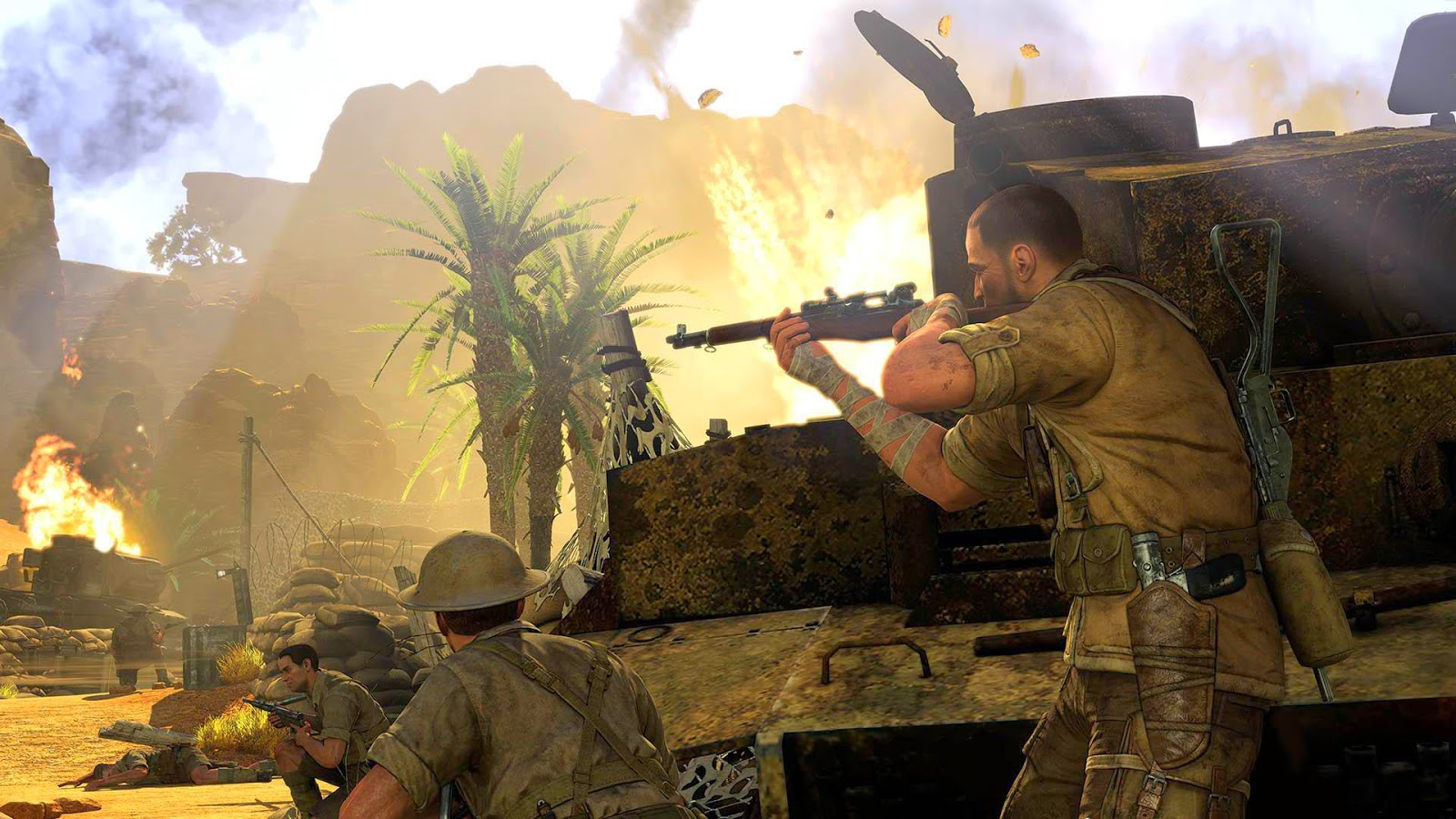 Best 47 Sniper Elite III Wallpaper on HipWallpaper Elite 1600x900