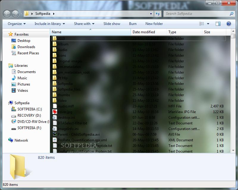 How To Change Windows 7 Folder Background 4 Apps Directories 800x640