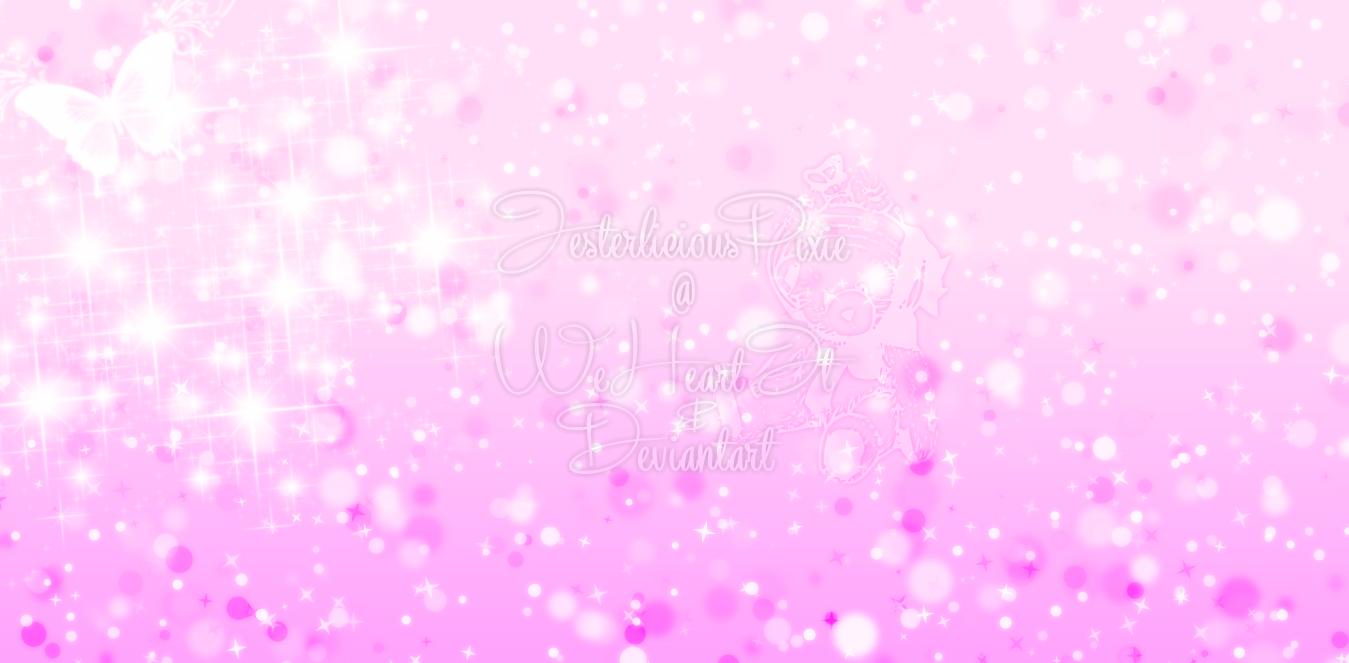 Pink Sparkle Wallpaper by JesterliciousPixie 1349x663