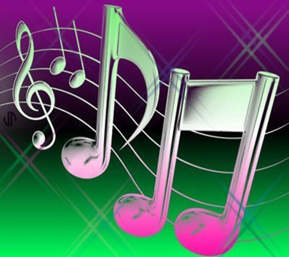 Free Download Music Notes Android Wallpapers 960x854 Hd Wallpaper
