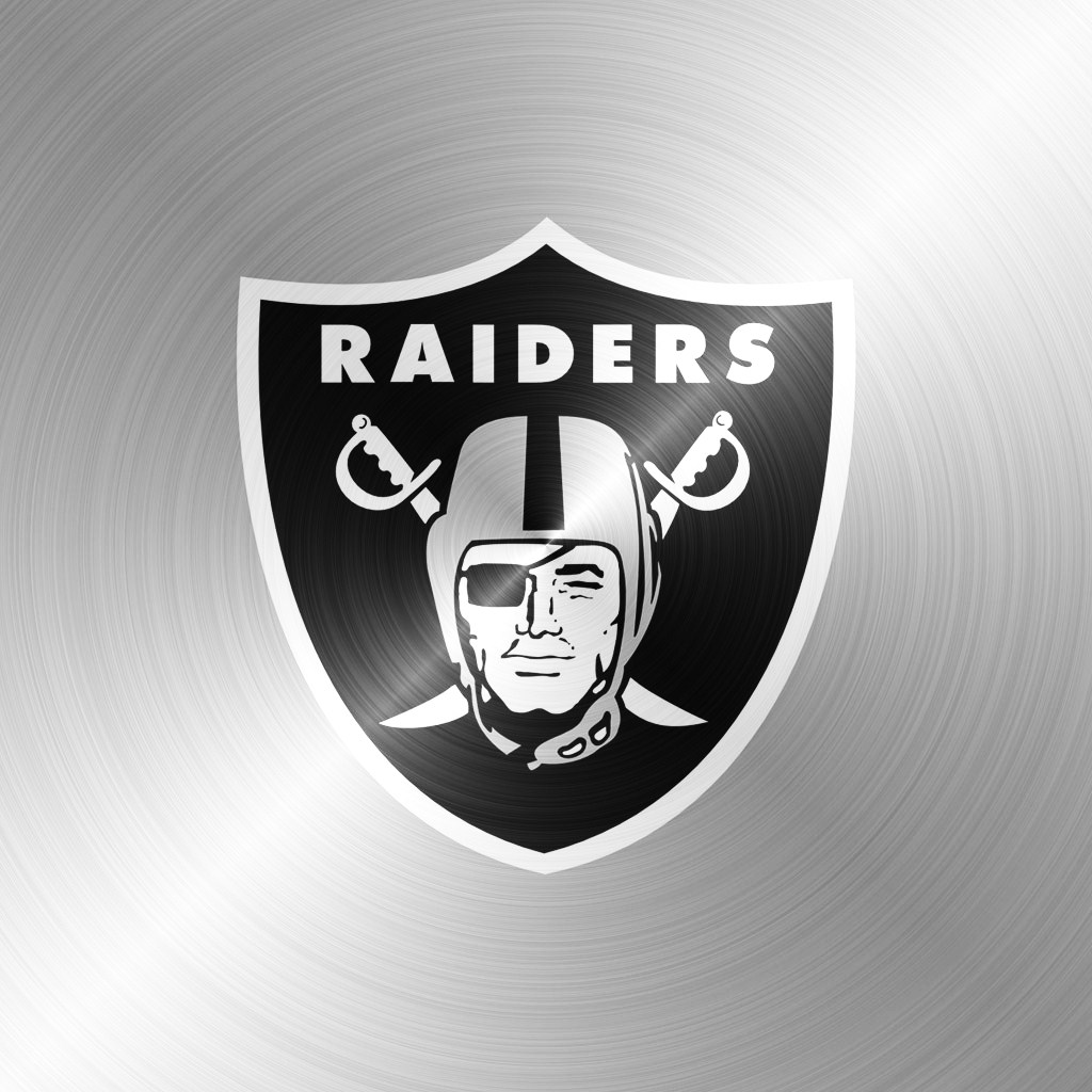 Pics Photos   Thumbs Oakland Raiders Logo Ipad Wallpaper 2 1024x1024
