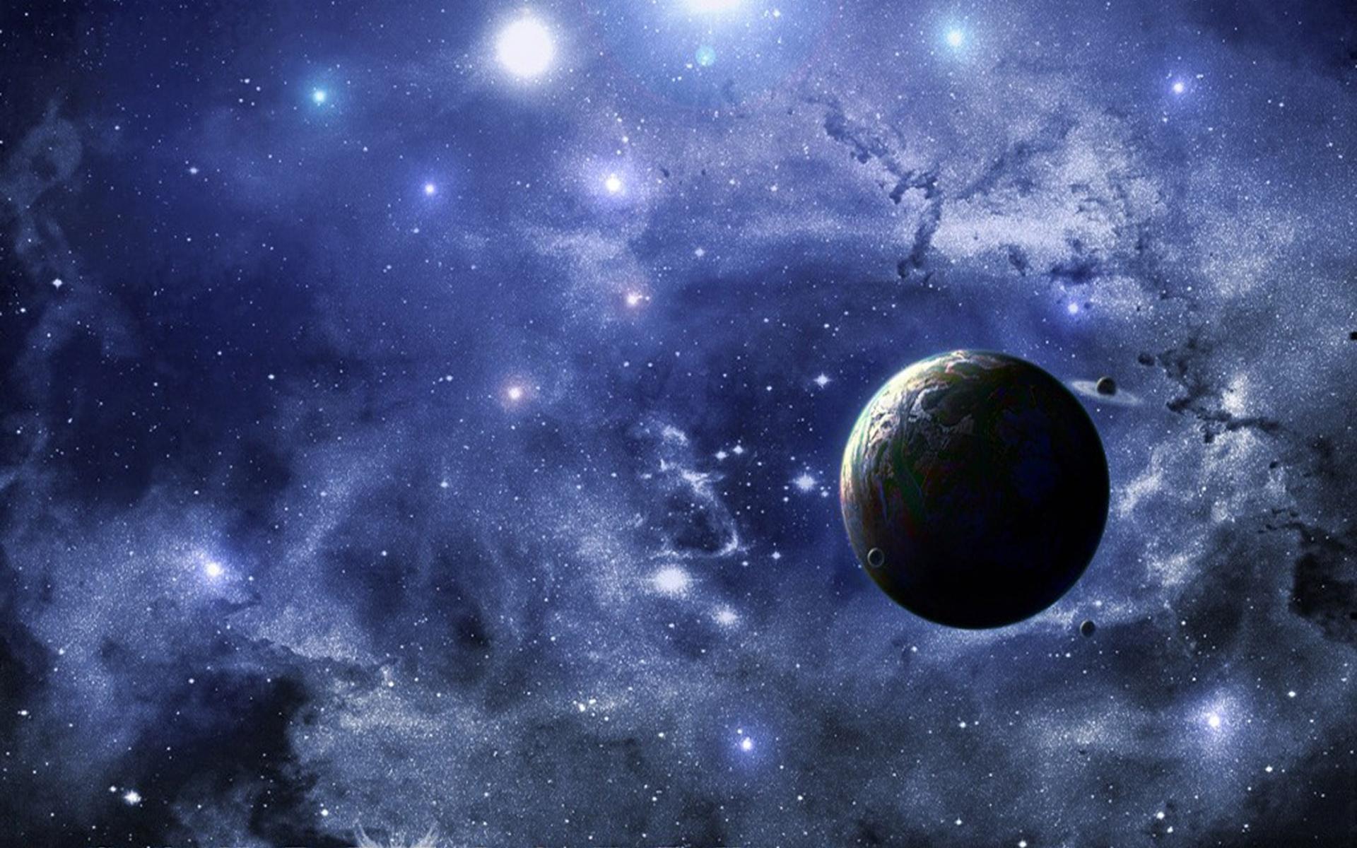 3d universe planets hd widescreen desktop wallpaper hd wallpapers