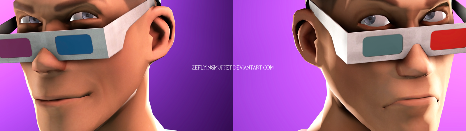 Dual Monitor wallpaper cool stuff by ZeFlyingMuppet 1600x450
