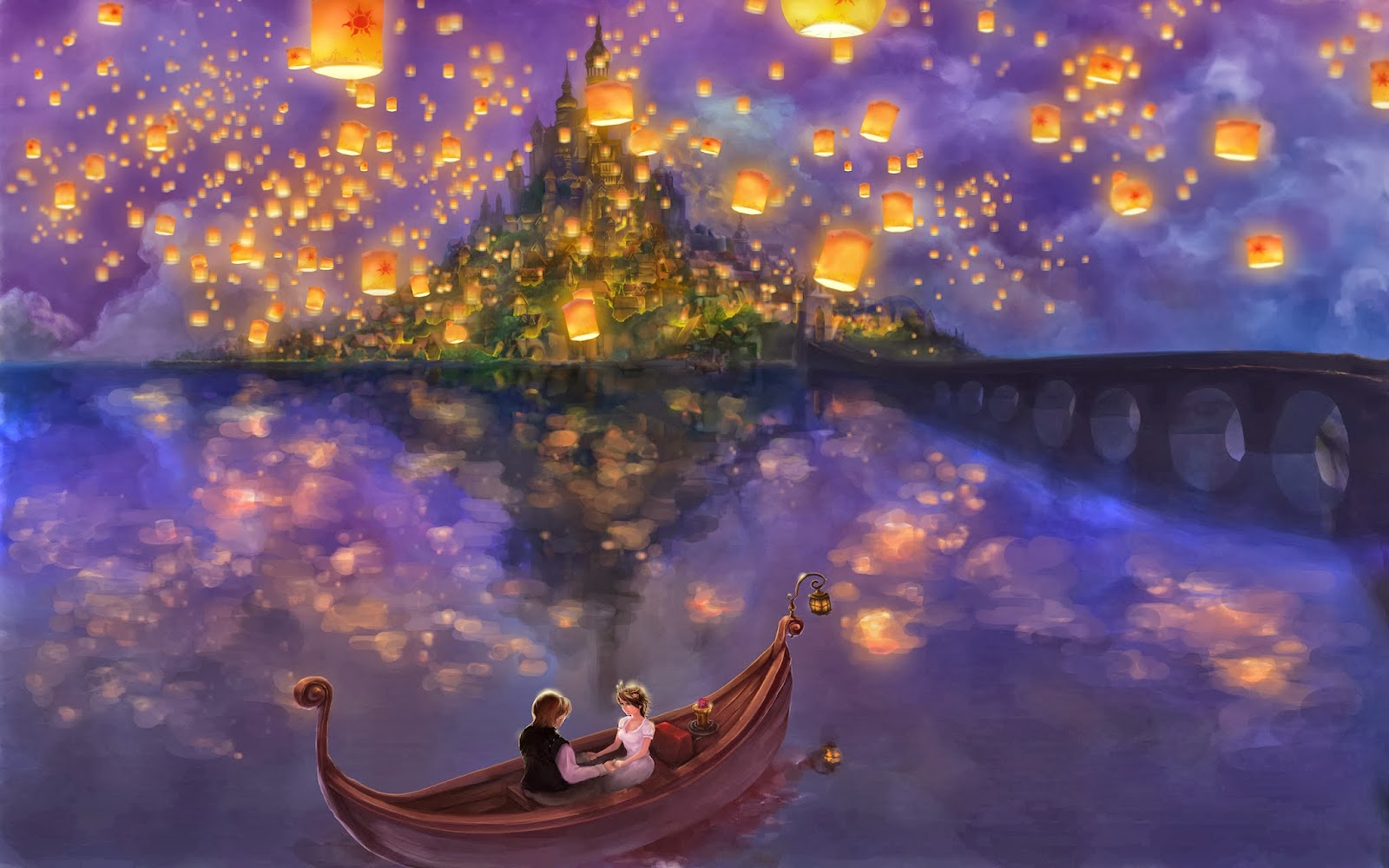 Tangled Castle HD Wallpapers Disney Movies Posters HD 1600x1000