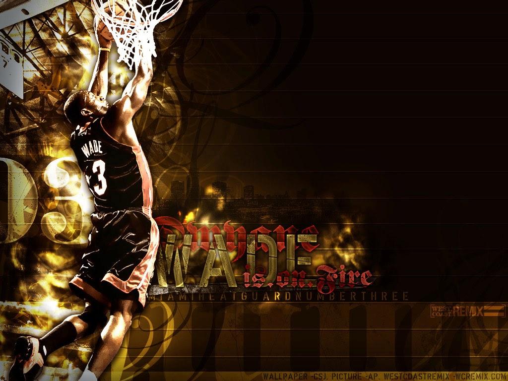 Wallpapers Dwyane Wade NBA HD   Fondos De pantallasWallpaper 1024x768