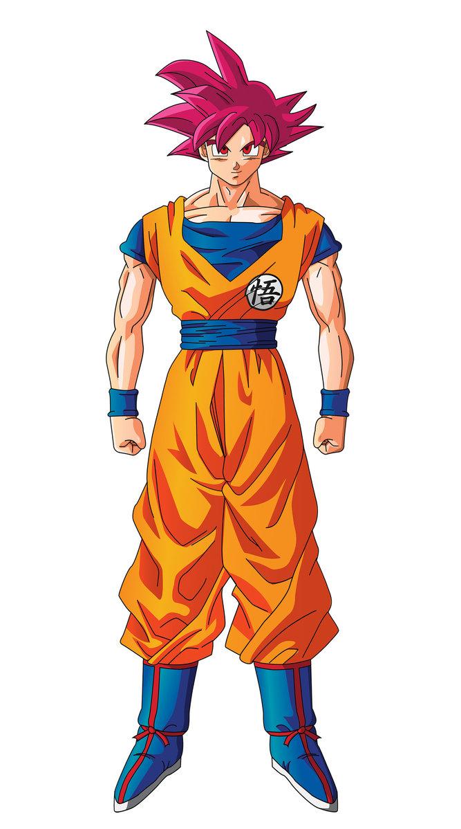 Super Saiyan God Goku Wallpaper - WallpaperSafari