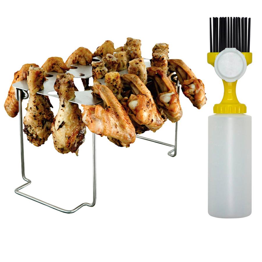 Shop Mr Bar B Q Leg and Wing Rack at Lowescom 900x900