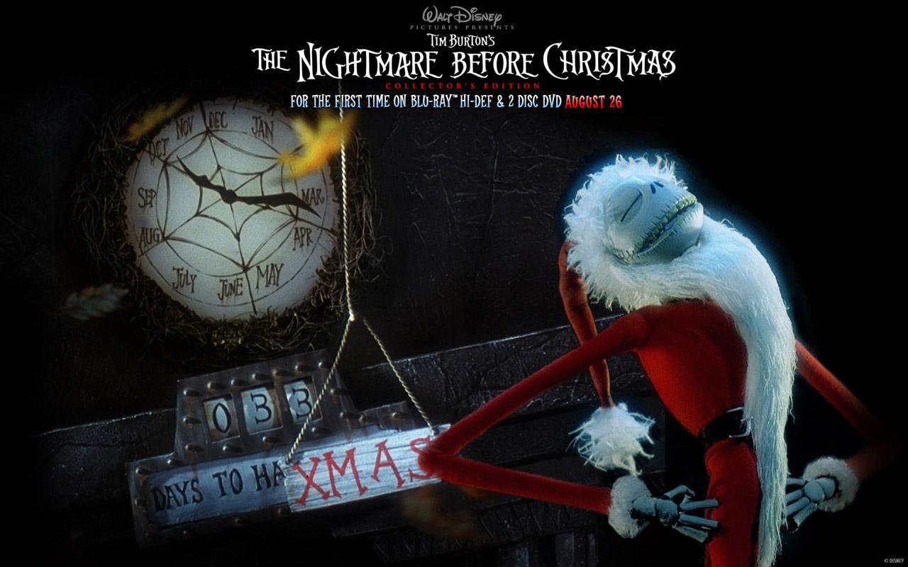 Nightmare Before Christmas HD Wallpaper - WallpaperSafari