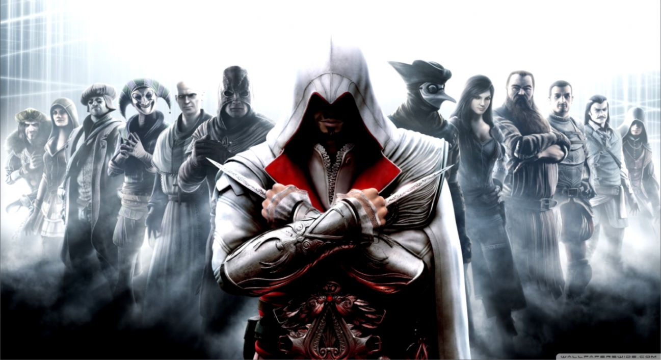 57 Assassin S Creed Brotherhood Wallpapers Hd On Wallpapersafari
