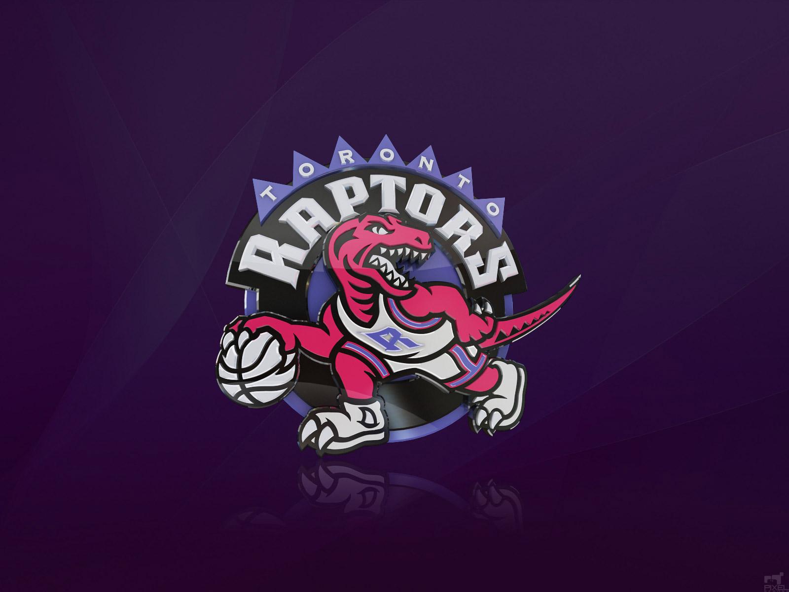 Toronto Raptors 3D Logo Wallpaper 1600x1200