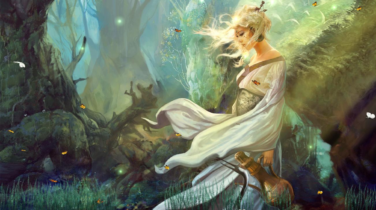 Download Fantasy Girls Animated Wallpaper | DesktopAnimated.com