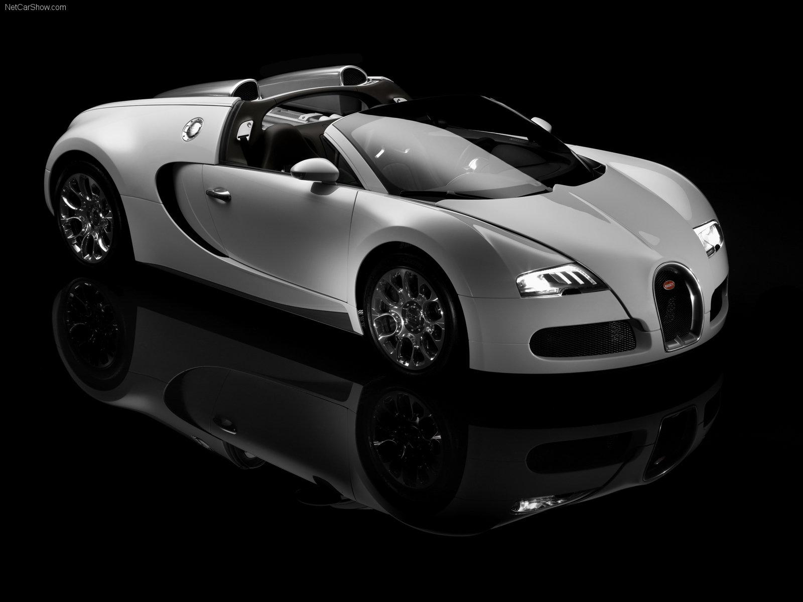 Bugatti Veyron white supercar wallpaper HD Only   Wallpapers 1600x1200