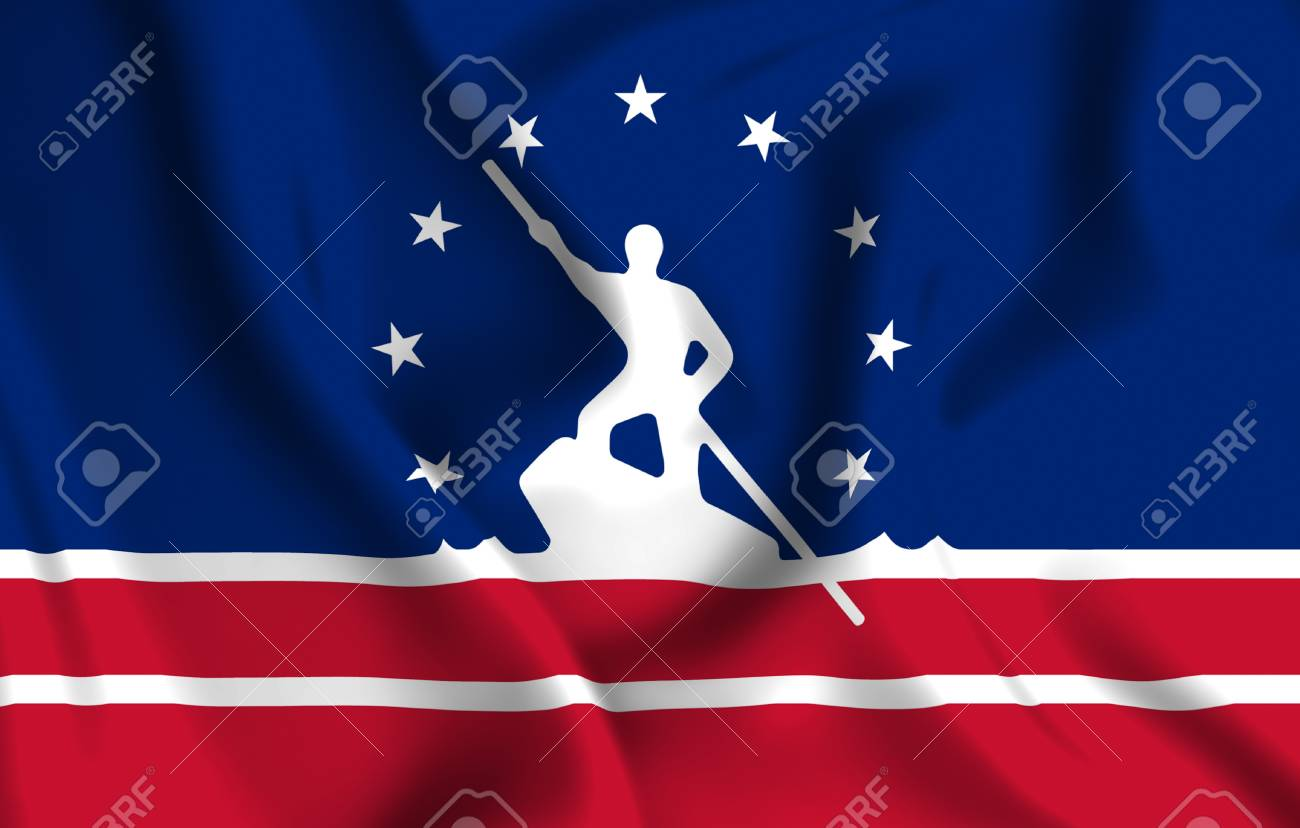 Richmond Virginia 3D Waving Flag Illustration Texture Can Be 1300x828