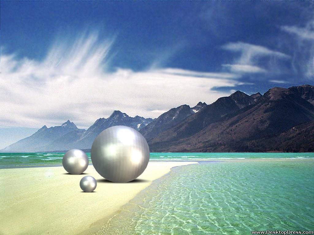 3D Beach Wallpapers for Desktop - WallpaperSafari