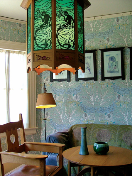 Expert Advice Wallpaper Paint   Old House Online   Old House Online 450x600