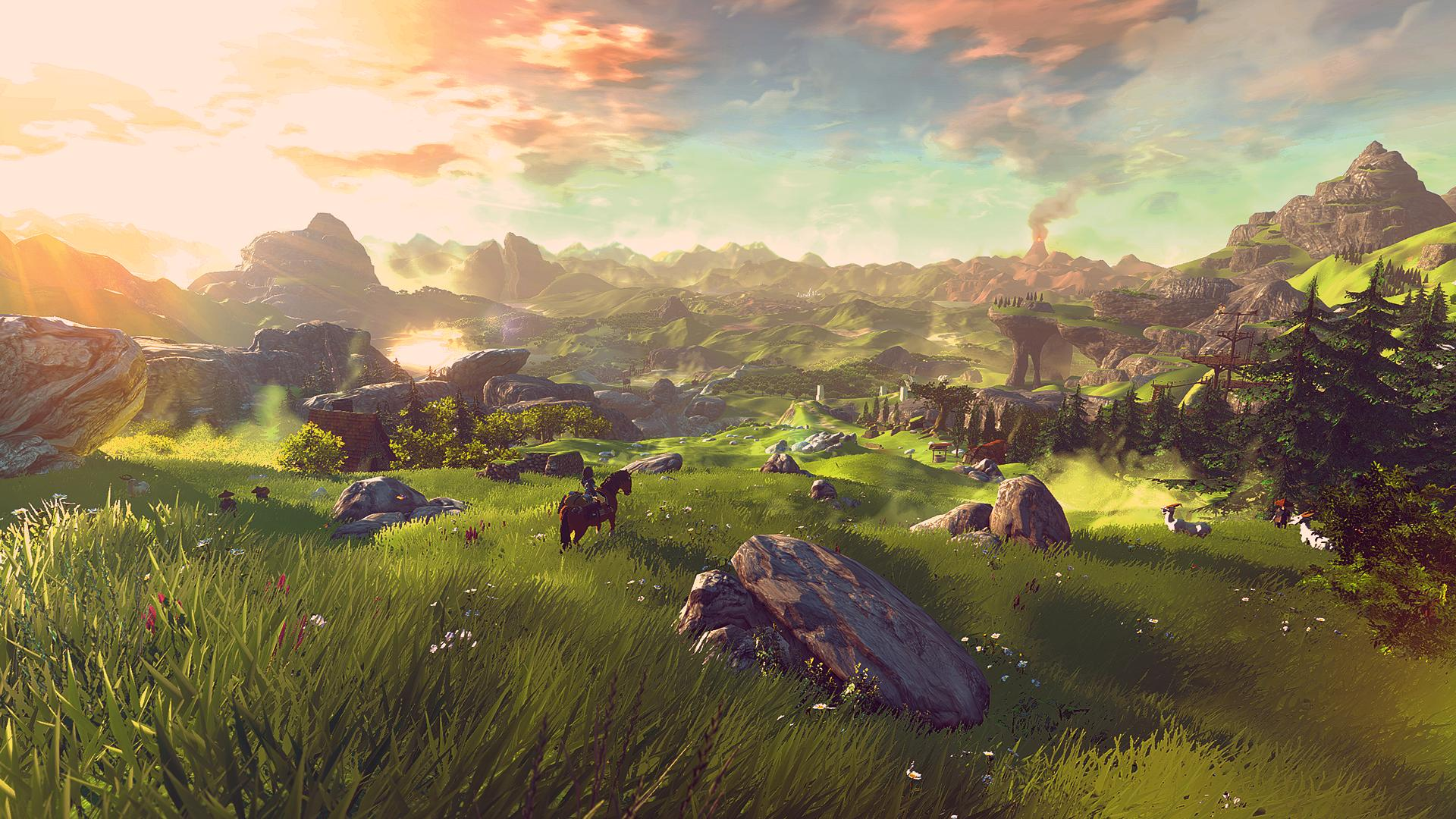 Zelda U Wallpaper IGN Boards 1920x1080