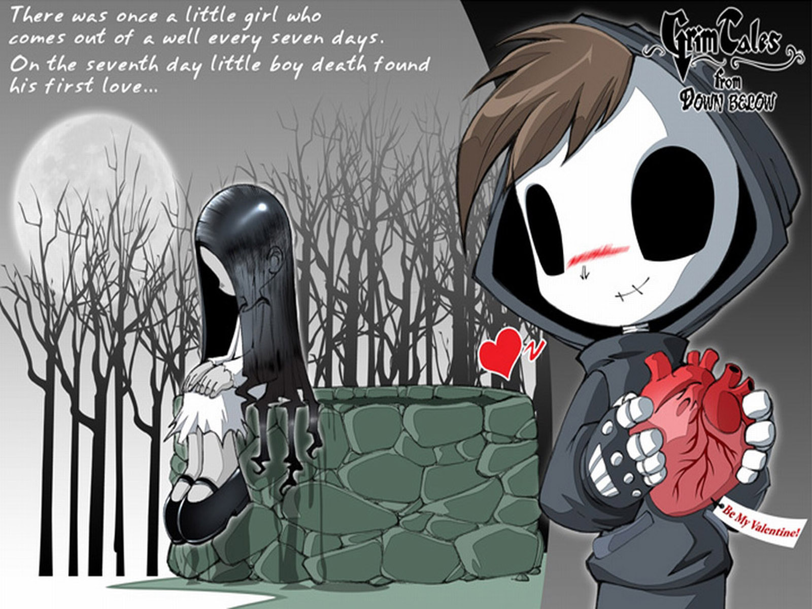 Emo goth wallpapers and images 1600x1200