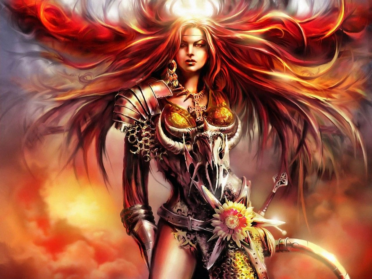 HD Fantasy Woman Wallpapers 1600x1200 Wallpapers 1280x960
