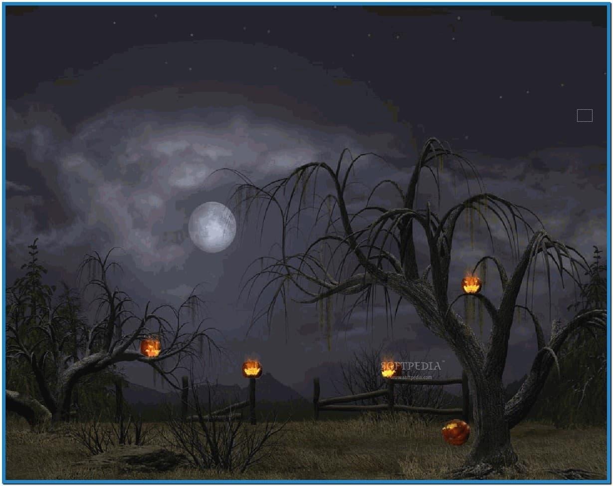 Halloween screensaver animation   Download 1229x974