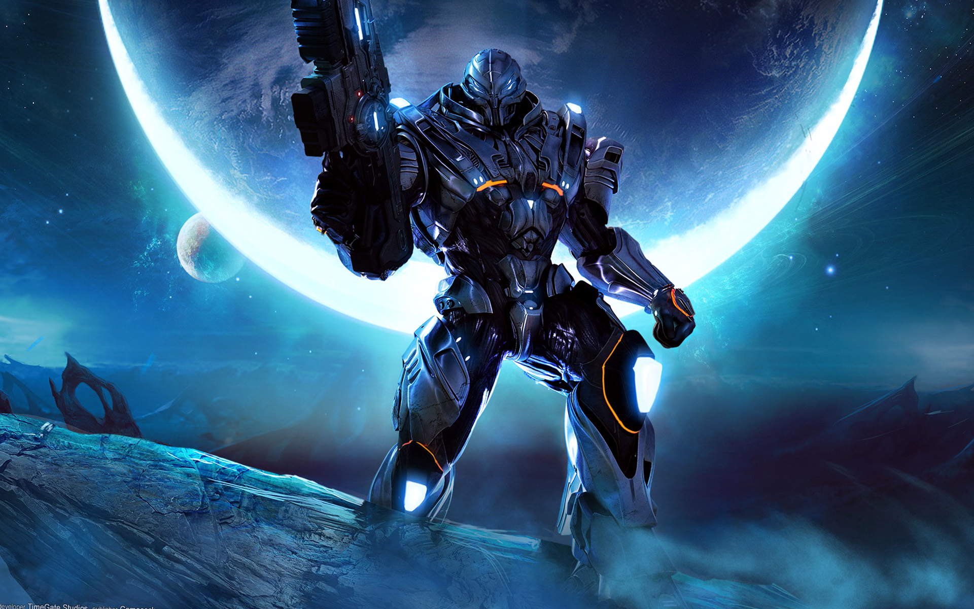 Category Game Wallpapers Cool Game Robot Dektop  1920x1200 px 1920x1200