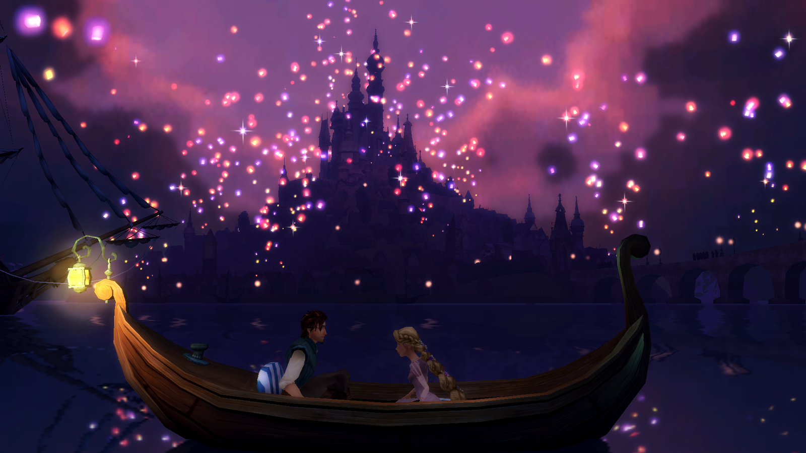 Tangled Lanterns Wallpaper Disney tangled by nylah22 1600x900