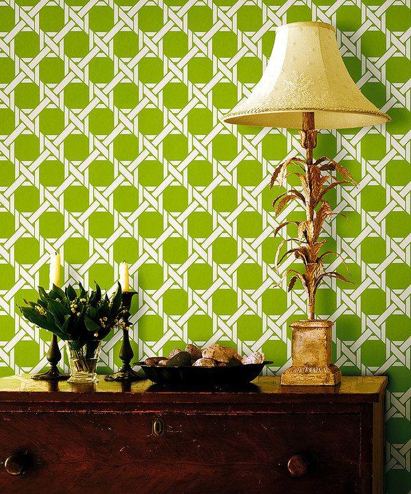 Look at this zulilyfind Light Green Lattice Trellis Wallpaper by 600x721