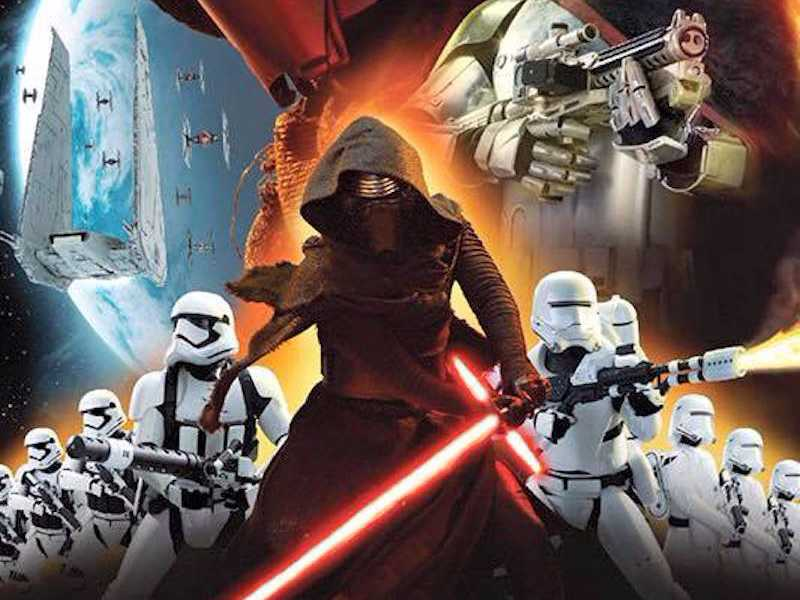 the first movie posters for star wars the force awakens might have 800x600